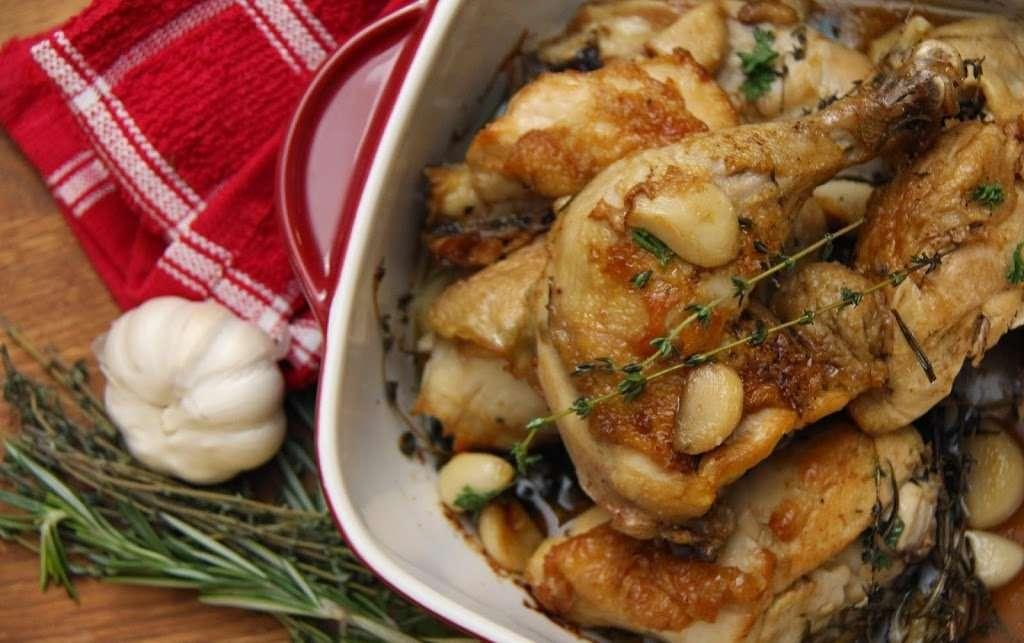Dinner Menu: Roasted chicken /w herbs & lots of garlic, Warm Brussels Sprouts Slaw /w Lemon & Hazelnuts, Maple-roasted Carrots