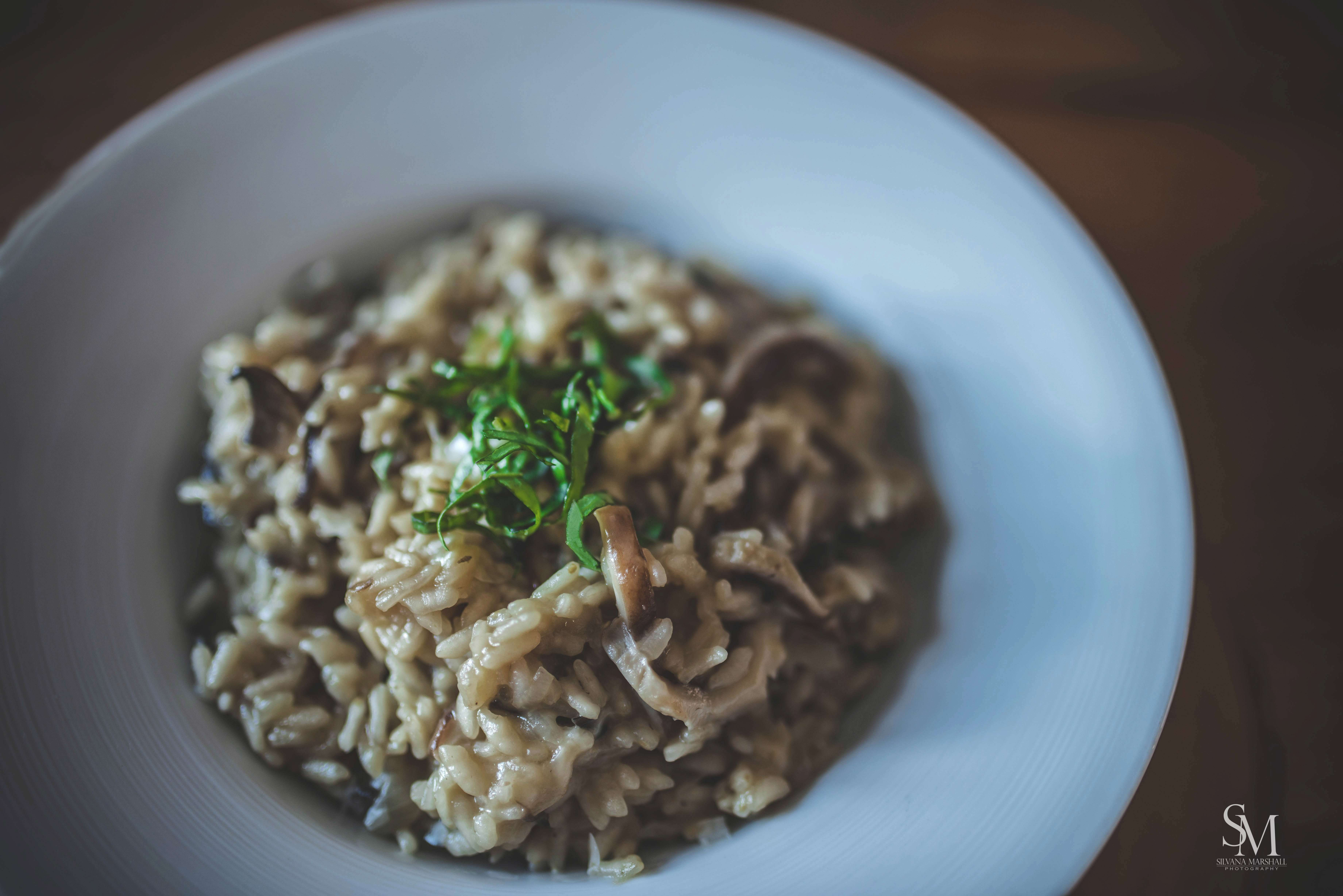 My Roots:  Mushroom Risotto