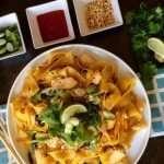Pad thai Easy Thai Take Out Menu at Home