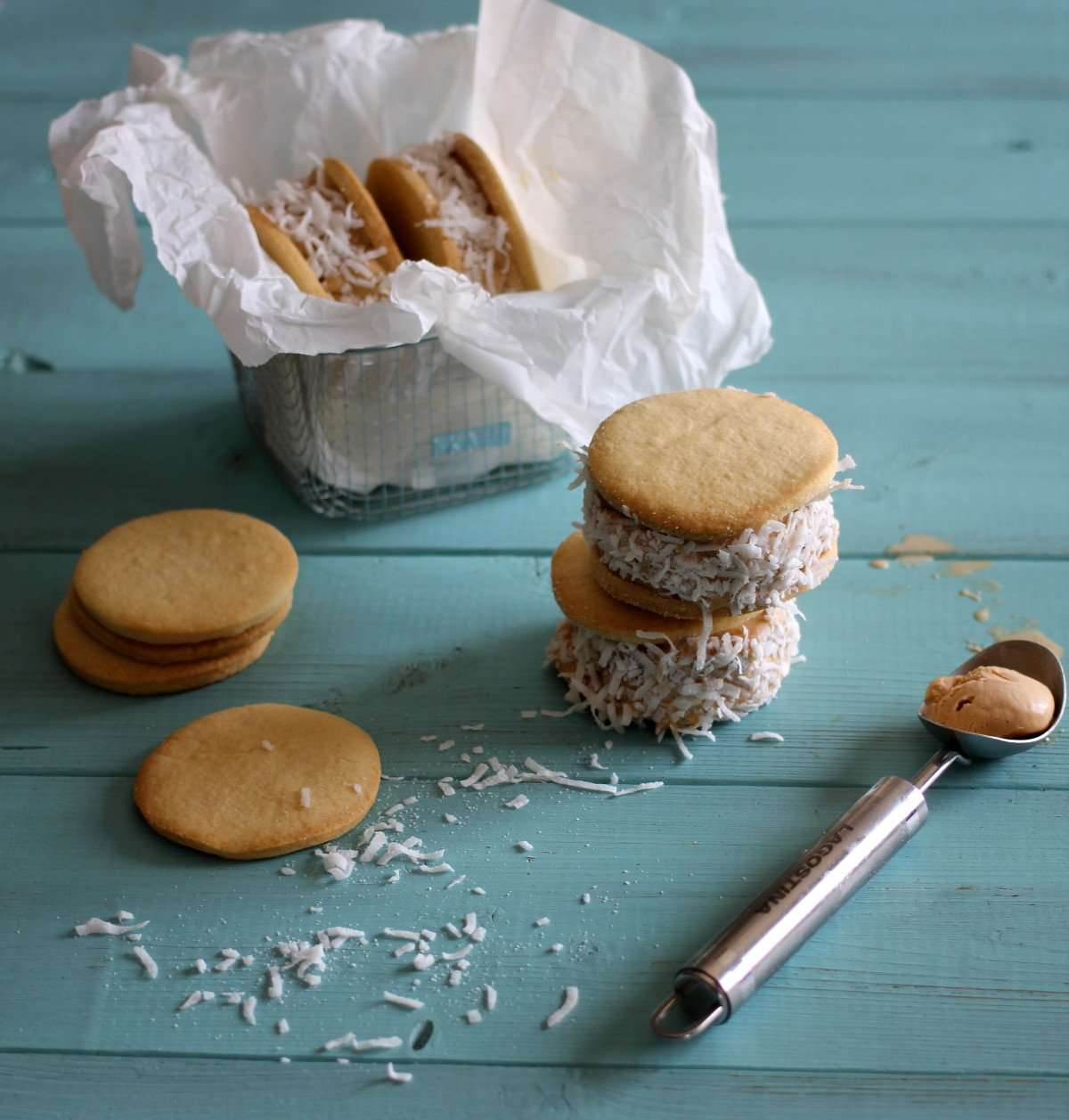 Ice Cream Alfajores