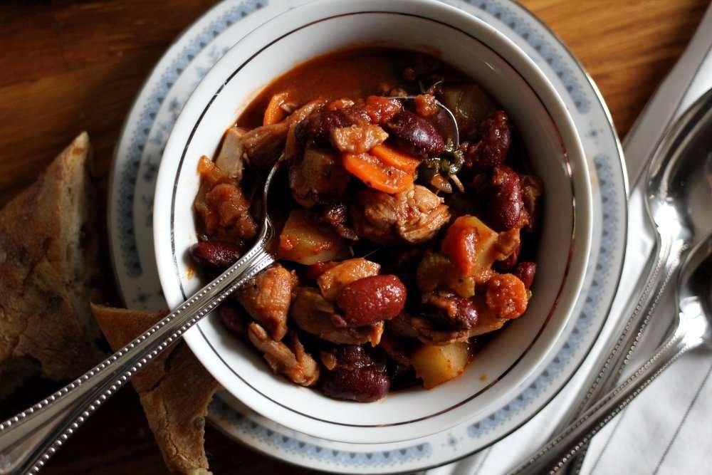 Spicy Italian Chicken Stew