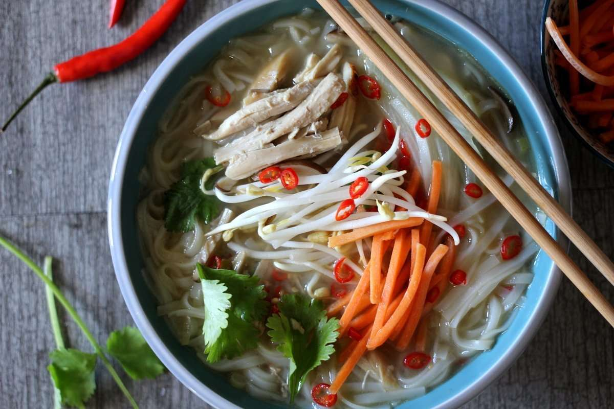 "Simple Spicy ""Faux"" Pho Soup"