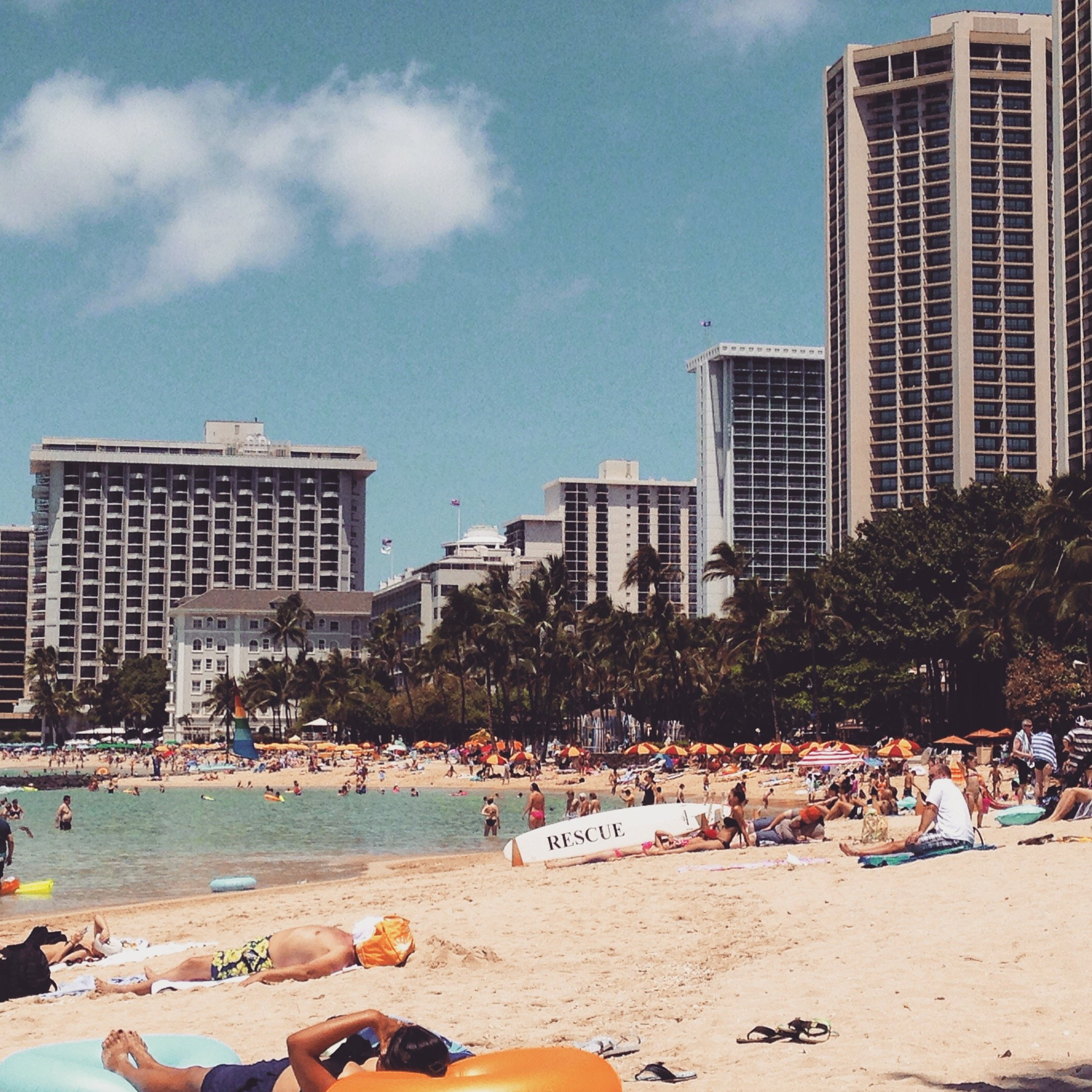 A Break and Food Adventure in Oahu, Hawaii