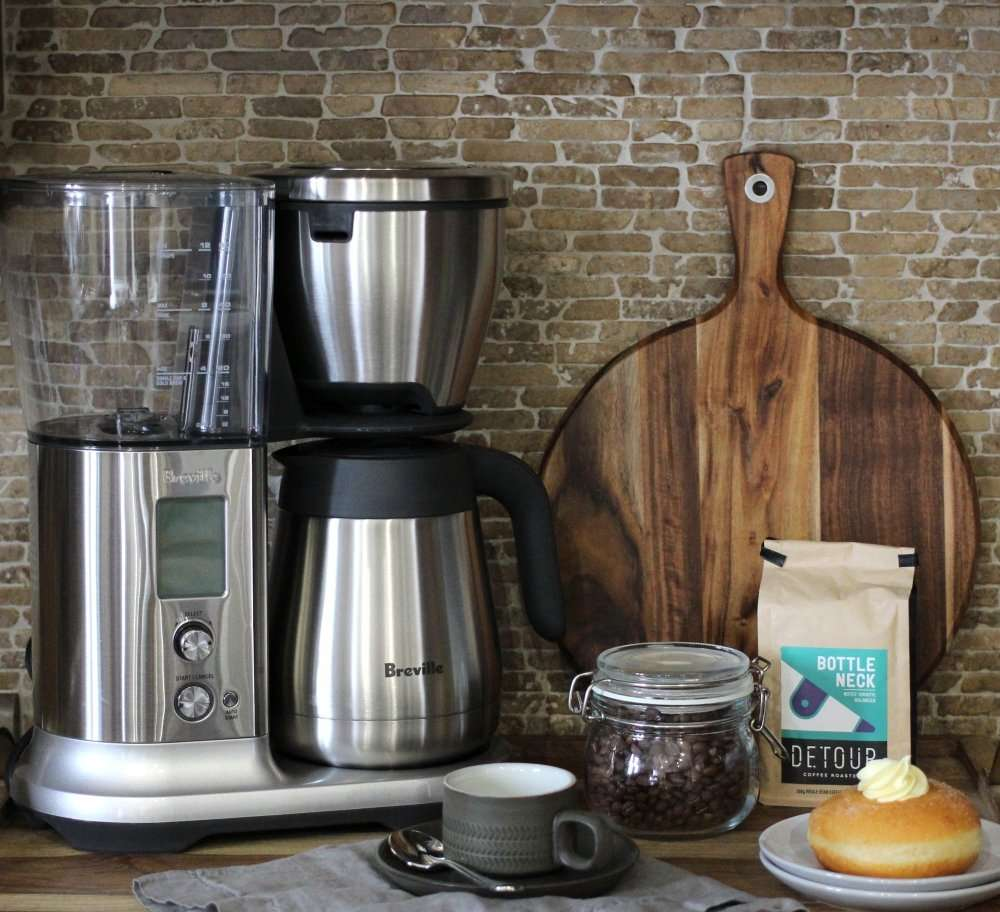 Breville Precision Brewer and giveaway with Julie Miguel, Food and Lifestyle Writer at dailytiramisu.com