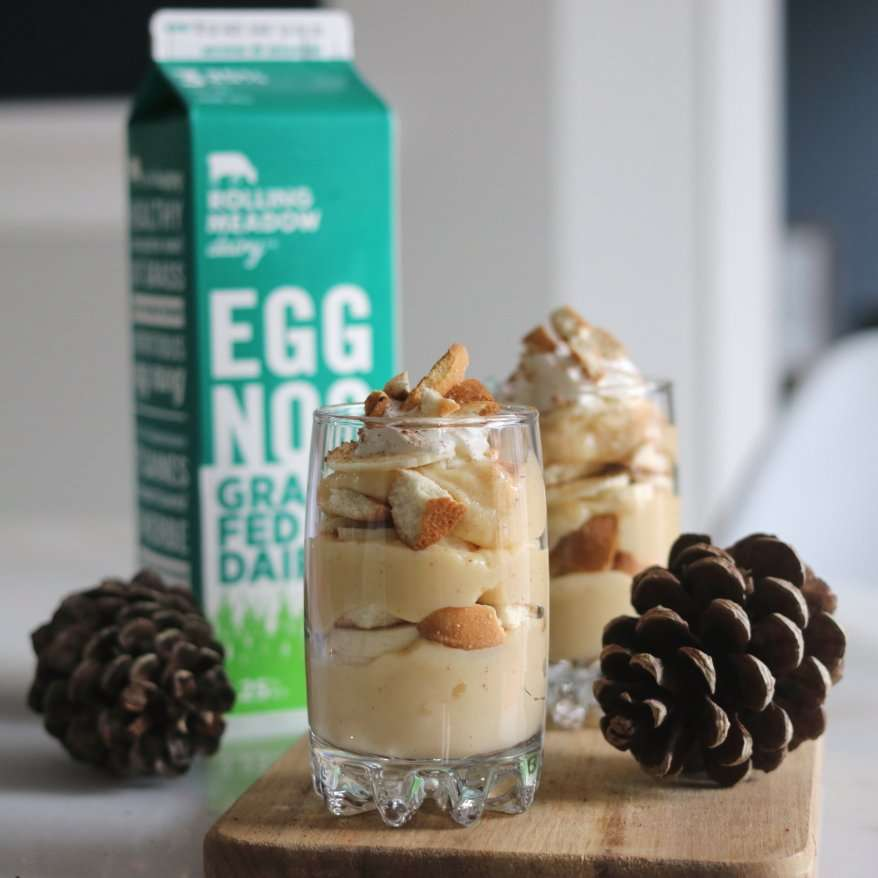 Memphis Banana & Eggnog Pudding Cups