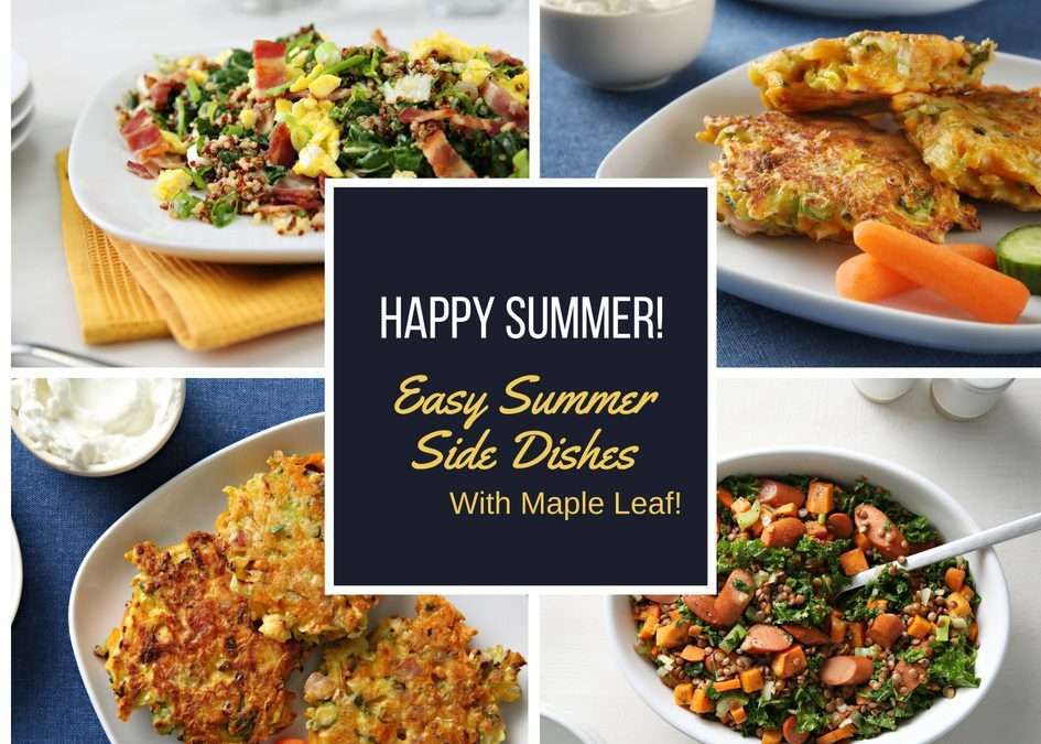 Happy Summer with 3 Easy Summer Side Dishes!