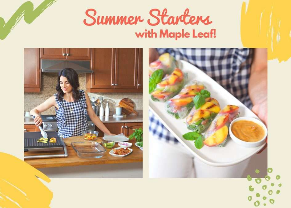 Starters to get your Summer Started!