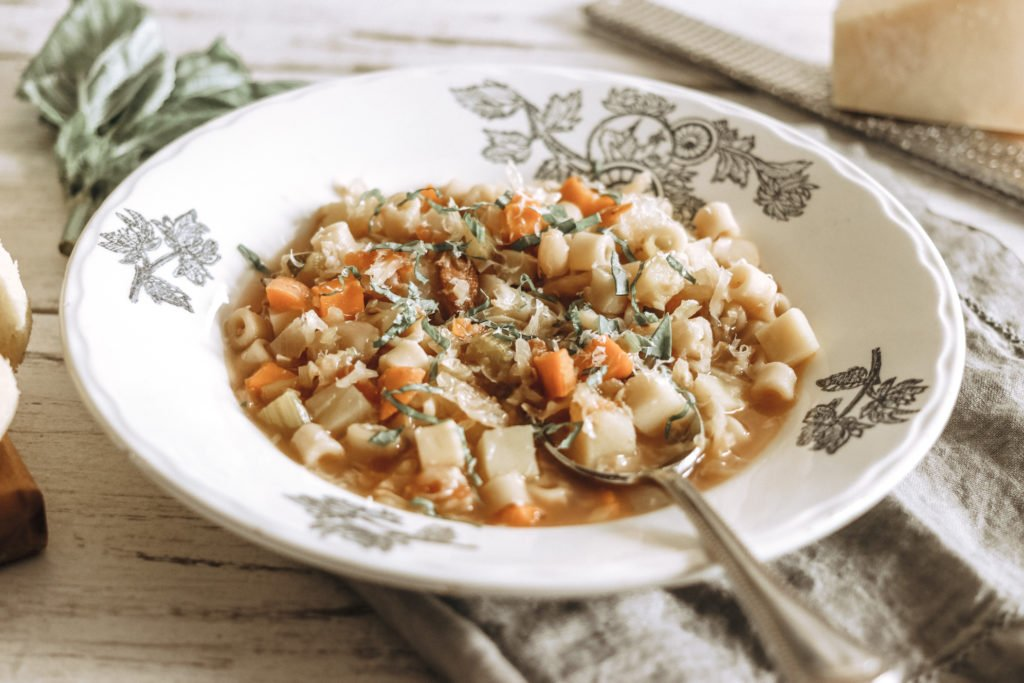 Harvest Vegetable Minestrone Soup