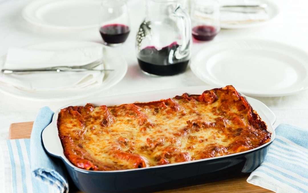Sausage-stuffed Lasagna