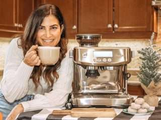 Breville Barista Pro Review with Julie miguel at dailytiramisu.com