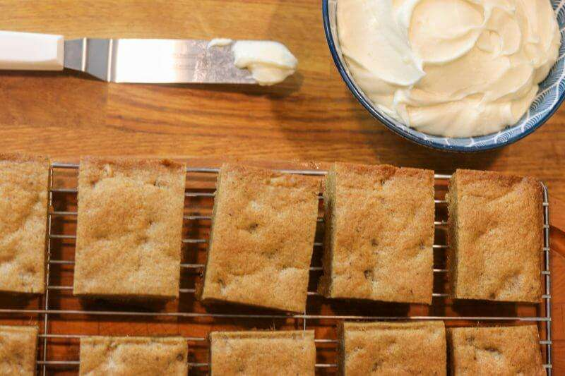 Chai Ginger Square by julie miguel of dailytiramisu.com