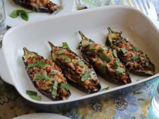 IMG 2568 #reethinkbeef Easy Stuffed Eggplants