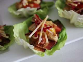 IMG 2650 1024x683 1 #BestBLT #DuBreton #Bacon #BLT #Contest #Recipe BLT Panzanella Lettuce Cups