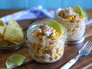 IMG 8914 768x512 1 Mexican Street Corn Cups /w Summer Fresh Five Cheese Dip (GF) #FreshBTS